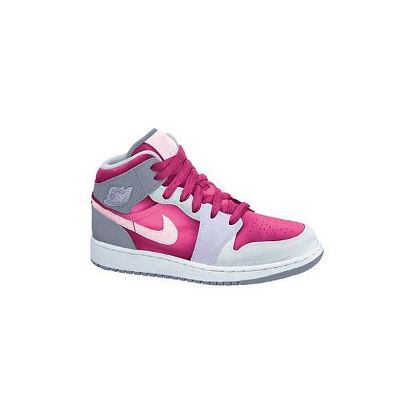 Girls Nike Air Jordan 1 Mid Gs utcai cipő