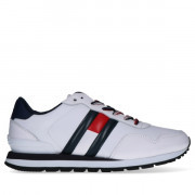 em0em00349-ybs Tommy Hilfiger Leather Lifestyle Sneaker