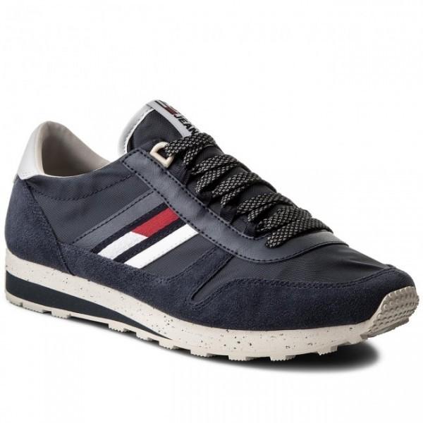 4256e9c0bd Tommy Hilfiger Tommy Jeans Retro Sneaker , Férfi cipő   utcai cipő ...