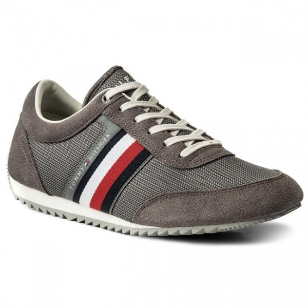 fm0fm01314-039 Tommy Hilfiger Corporate Material Mix Sneaker
