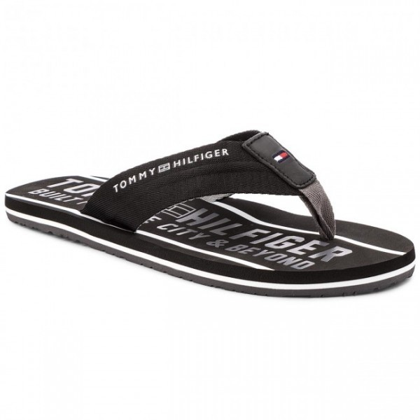 fm0fm01371-990 Tommy Hilfiger Smart Th Beach Sandal