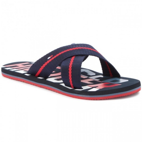 9c87143df7 Tommy Hilfiger Bold Hilfiger Cross Beach , Férfi cipő   papucs ...