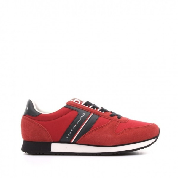 fm0fm01590-611 Tommy Hilfiger New Iconic Material Mix Runner