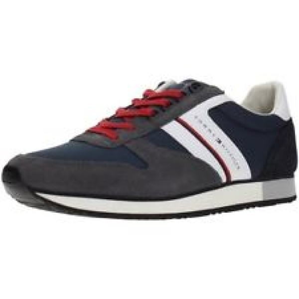 fm0fm01590-909 Tommy Hilfiger New Iconic Material Mix Runner