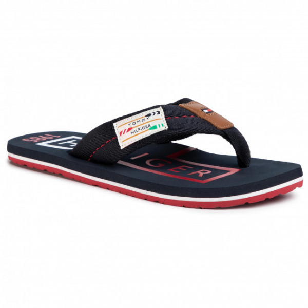 fm0fm02706-dw5 Tommy Hilfiger Badge Beach Sandal